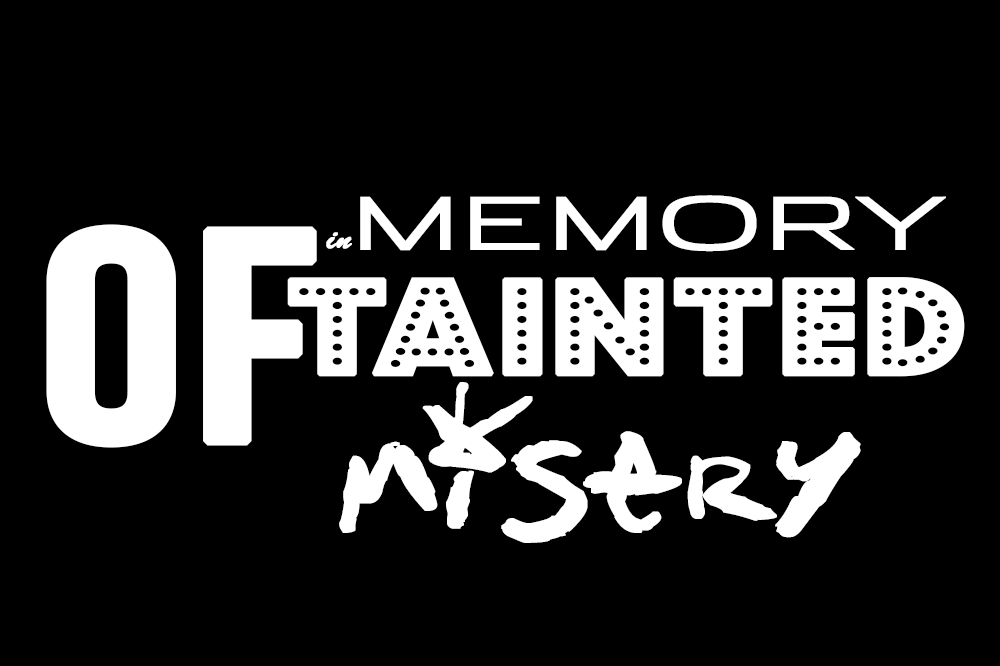 in memory of tainted misery Jeroen Verbruggen