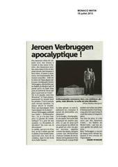 Article de Pièce Aritmophobia de Jeroen Verbruggen 06